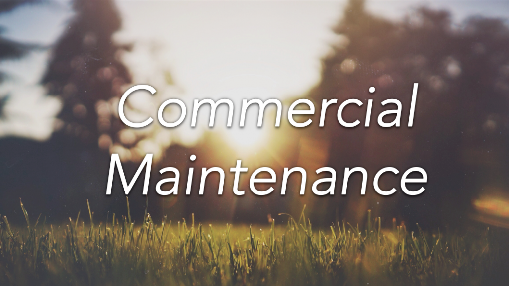Commercial Maintenance Banner