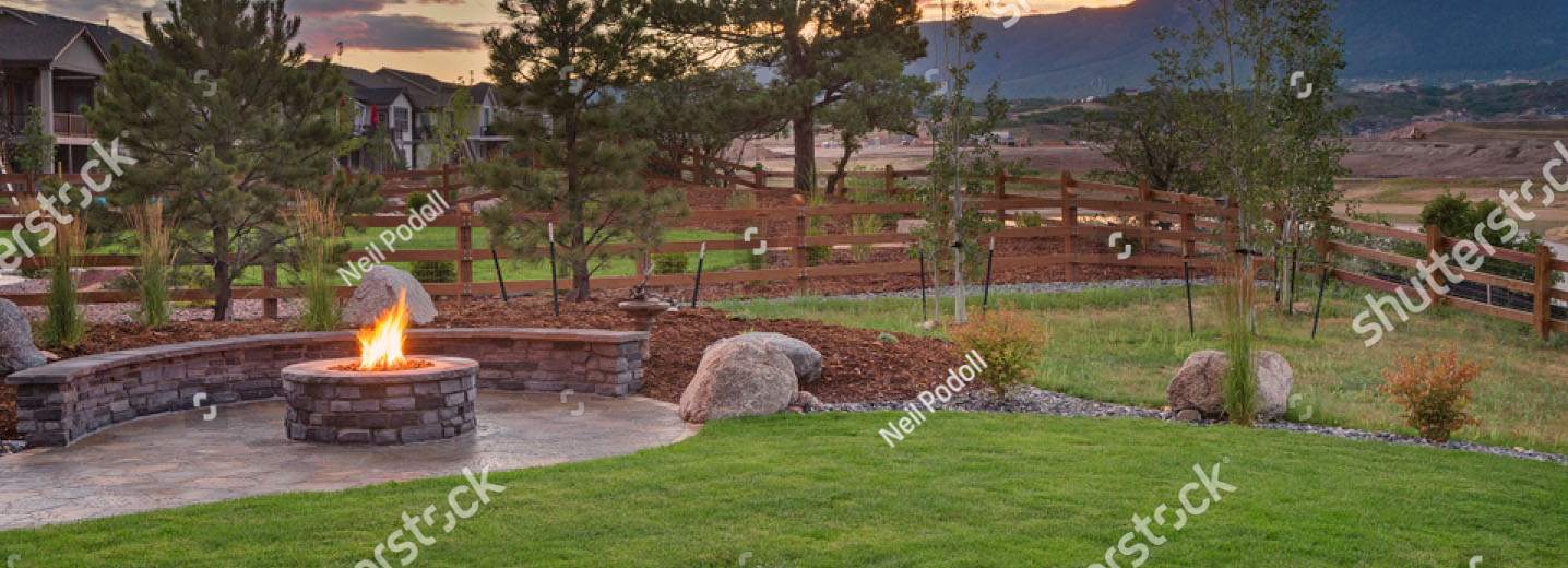 croppedfire - Fisk Lawnscapes - Colorado Springs Landscapers